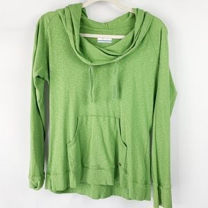 Columbia Lime Green Layer Pullover with Pouch